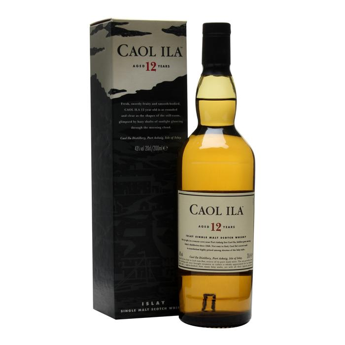 Caol Ila 12 años x750ml. - Islay Single Malt Whisky, Escocia