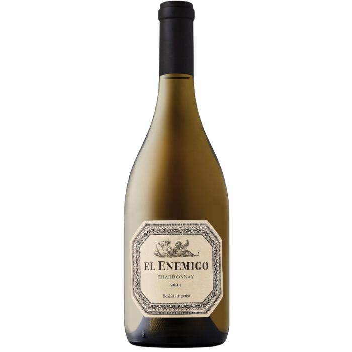 El Enemigo Chardonnay 2015 by Alejandro Vigil - 95 pts. James Suckling